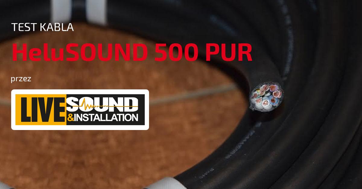 Test kabla HeluSOUND 500 PUR