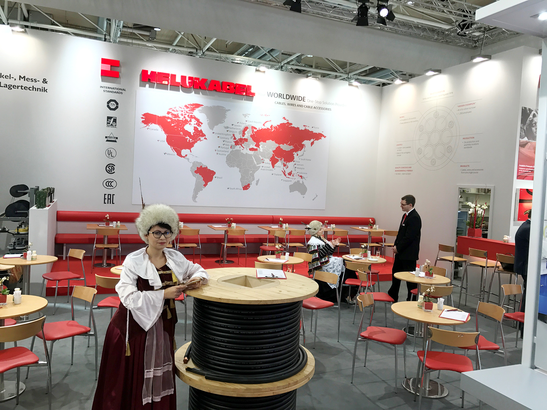Helukabel Polska- Targi Hannover Messe 2017